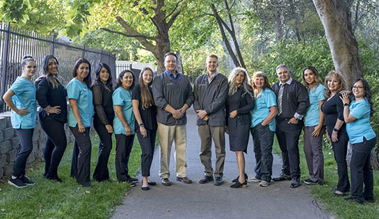 Dr. Shaun Christensen and the staff of Middle Creek Dental in Nampa, ID