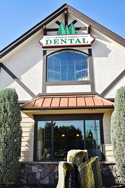 Outdoor shot of Middle Creek Dental in Nampa, ID