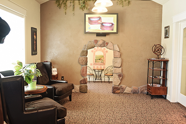 Lovely photo of the waiting area at Middle Creek Dental - Nampa, ID