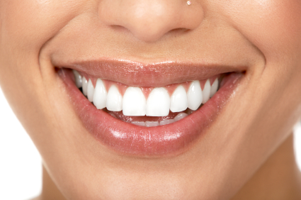 Woman with great teeth smiling - Dentist Nampa, ID